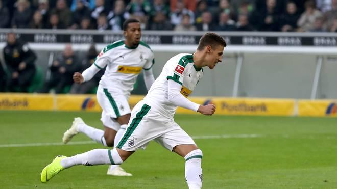 Thorgan Hazard schnürte einen Doppelpack für Borussia Mönchengladbach