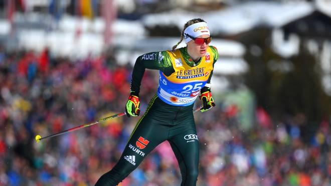 Victoria Carl hat nach einer starken Leistung das Finale erreicht, eine Medaille aber verpasst