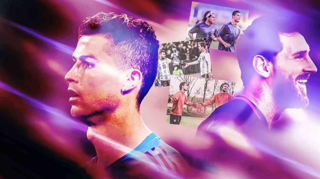 Diese Spieler spielten mit Cristiano Ronaldo und Lionel Messi