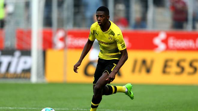 Ousmane Dembele steht vor einem Wechsel von Dortmund zum FC Barcelona
