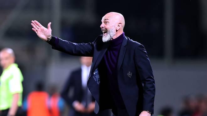 Stefano Pioli war seit 2017 Trainer des AC Florenz