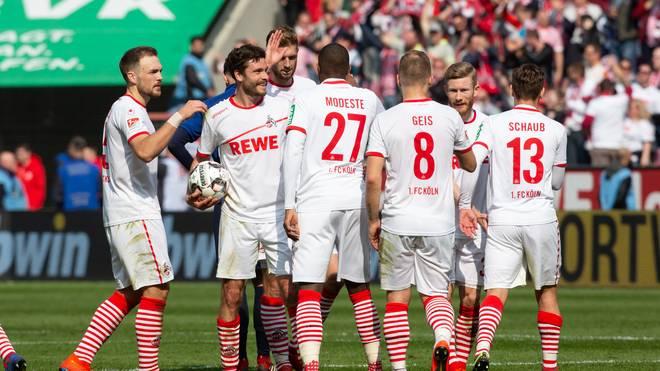 1. FC Koeln v Holstein Kiel - Second Bundesliga
