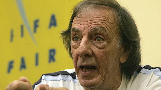 Der 80-jährige Cesar Luis Menotti wurde 1978 Weltmeister mit Argentinien