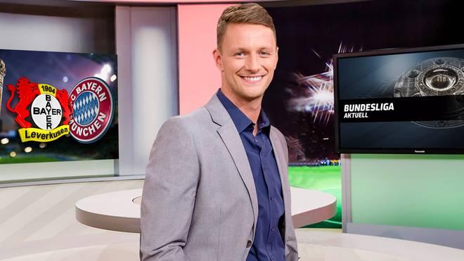 Jochen Stutzky moderiert Bundesliga Aktuell