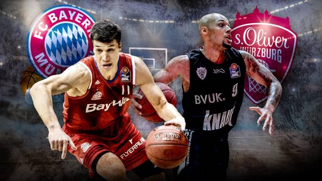 Fc Bayern Basketball S Oliver Würzburg Live Im Tv Auf Sport1