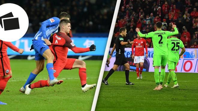 Der Schubser gegen Luka Jovic und der Elfmeter in Mainz - nur zwei Aufreger des 14. Spieltags