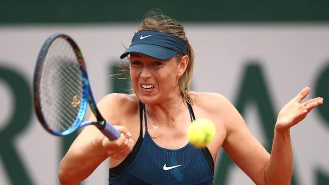 Maria Sharapova unterlag im Viertelfinale der French Open in Paris