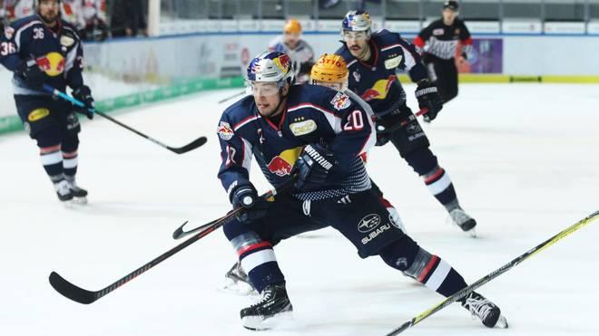 Der EHC Red Bull München will mit einem Sieg in Berlin das Halbfinale klar machen