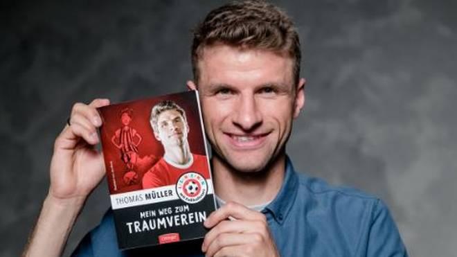 Bayern-Star Thomas Müller stellt erstmals sein eigenes Kinderbuch vor