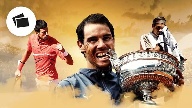 Novak Djokovic, Rafael Nadal und Roger Federer gehören zu den besten Tennisspielern aller Zeiten
