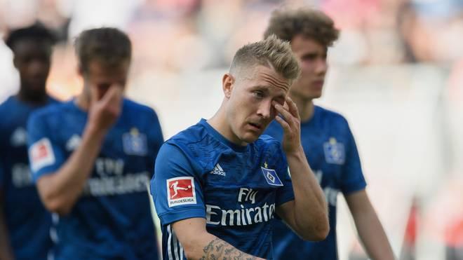 Lewis Holtby geht mit dem Hamburger SV in die Zweite Liga