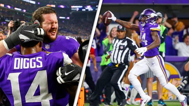 Stefon Diggs war der umjubelte Held bei den Minnesota Vikings