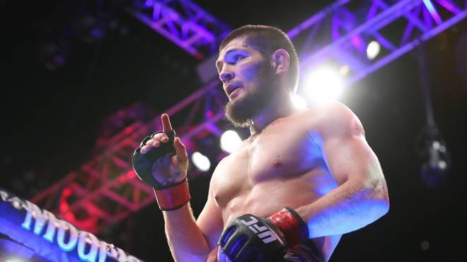 Khabib Nurmagomedov kämpft im Oktober gegen Conor McGregor