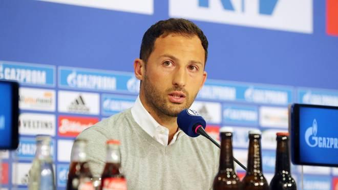 Domenico Tedesco ist seit dieser Saison Trainer von Schalke 04