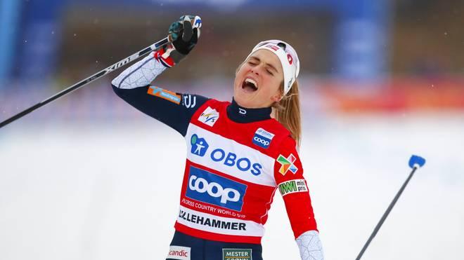 Therese Johaug hat bislang in dieser Saison alle fünf Distanzrennen gewonnen