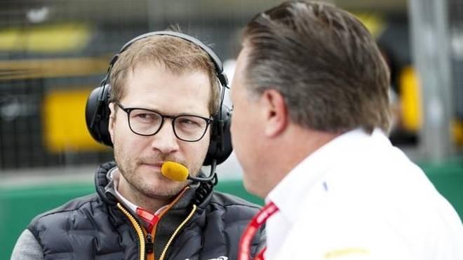 Zak Brown hat Pläne mit Andreas Seidl - aber nicht in der WEC