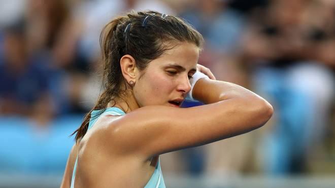 Julia Görges schied im Halbfinale von St. Petersburg aus