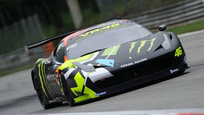Valentino Rossi testete bereits in der Vergangenheit für Ferrari