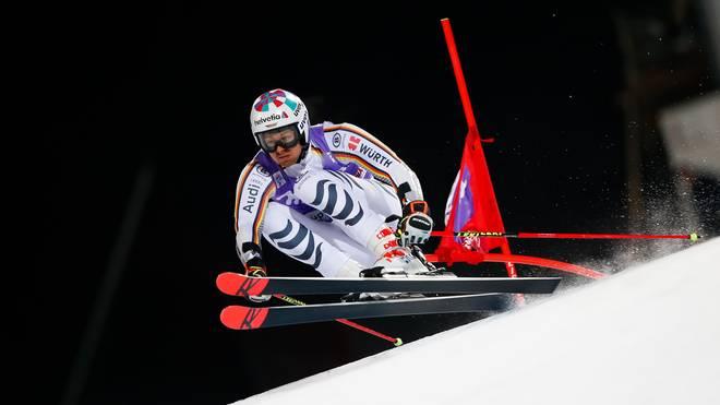 Stefan Luitz verletzte sich in Adelboden an der Schulter