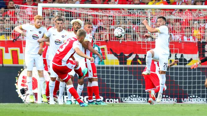 Felix Kroos schoss Union Berlin zum Sieg gegen Erzgebirge Aue