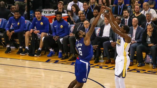 Warriors-Star Kevin Durant erzielte gegen die Clippers seinen 20.000 Punkt in der NBA