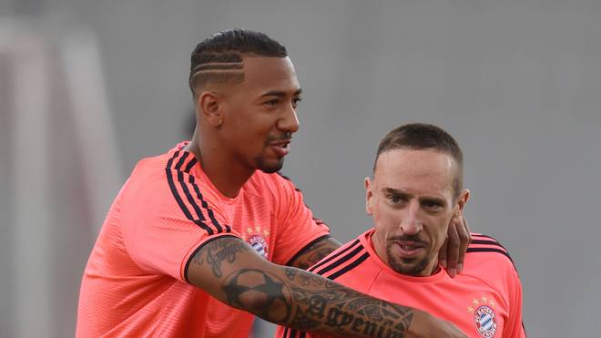 Bayern Munich winger Franck Ribery hopes Jerome Boateng doesn't leave the club