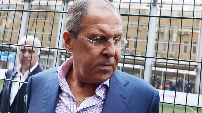 Sergej Lawrow ist seit 2004 russischer Außenminister