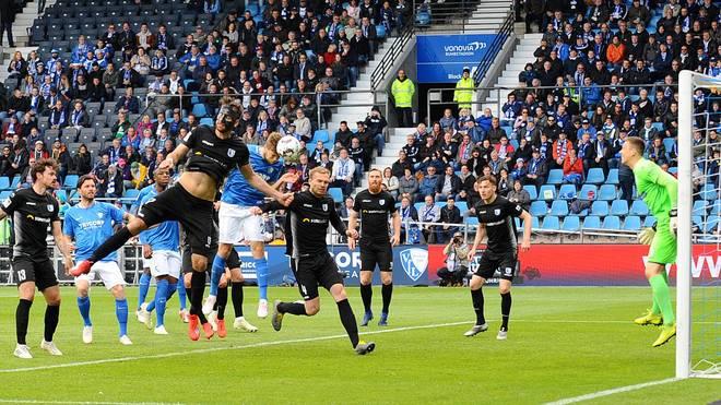 Durch die Niederlage in Bochum stürzt der 1. FC Magdeburg auf einen direkten Abstiegsplatz