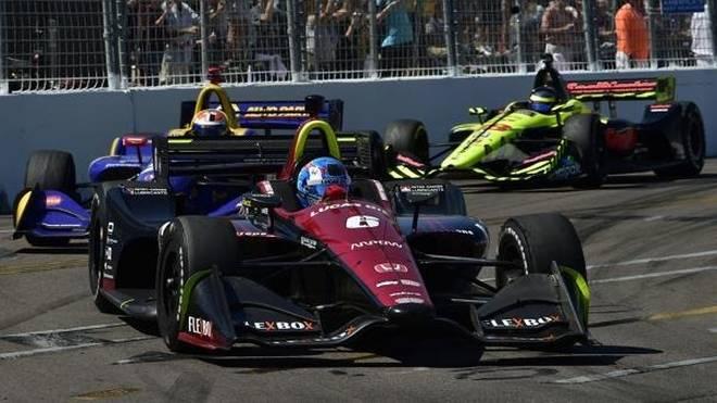 Mit Robert Wickens hätte in St. Pete fast ein Rookie den IndyCar-Auftakt gewonnen