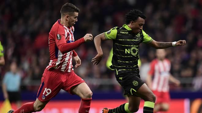 Gelson Martins (r.) läuft künftig für, nicht gegen Atletico auf