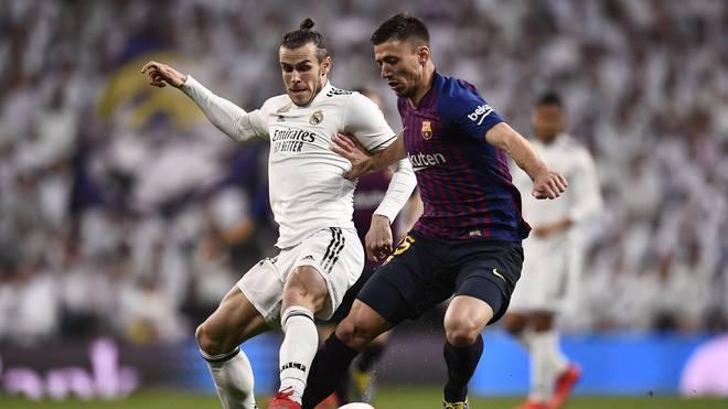 Real Madrids Gareth Bale machte gegen den FC Barcelona keinen Stich