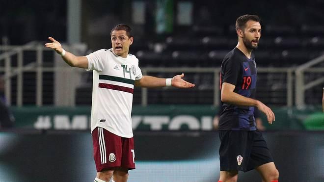 Mexico v Croatia