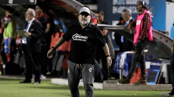 Diego Maradona hat mit Dorados de Sinaloa den Aufstieg verpasst