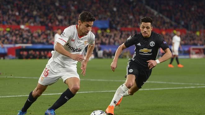 Sevilla FC v Manchester United - UEFA Champions League Round of 16: First Leg