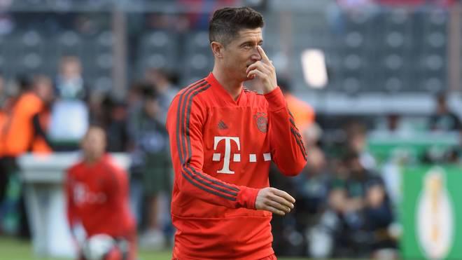 Robert Lewandowski steht beim FC Bayern noch bis 2021 unter Vertrag