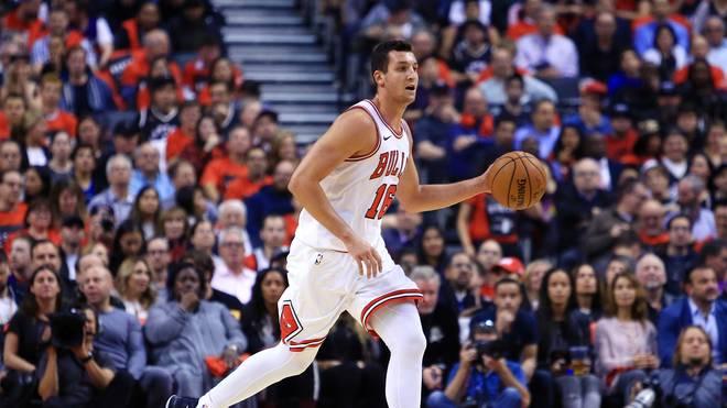 Paul Zipser von den Chicago Bulls