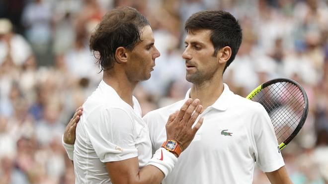 Rafael Nadal (l.) und Novak Djokovic unterstützen eine Reform des Davis Cups