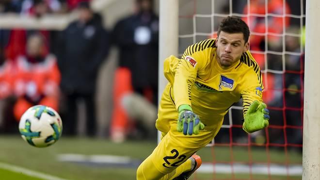 Rune Jarstein bleibt bei Hertha BSC