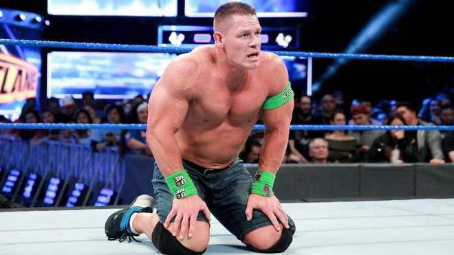 John Cena durfte bei WWE SmackDown Live um ein Match bei WrestleMania 34 kämpfen