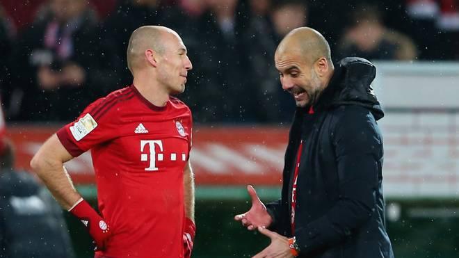 FC Bayern: Arjen Robben über Guardiola, seinen Trick, Zukunft