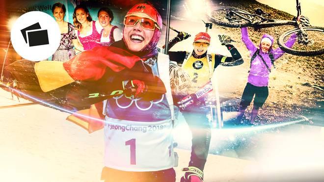 Biathlon-WM, Laura Dahlmeier: Ihre Karriere und Erfolge in Bildern