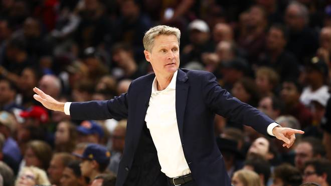 Steve Kerr ist seit 2014 Headcoach der Golden State Warriors