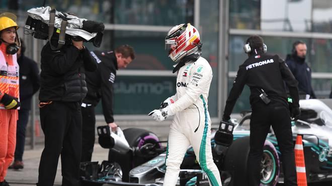Lewis Hamilton wurde im China-Qualifying von Sebastian Vettel auf Distanz gehalten