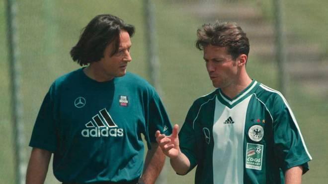 Hans-Wilhelm Müller-Wohlfahrt (mit Lothar Matthäus) war seit 1995 DFB-Doc