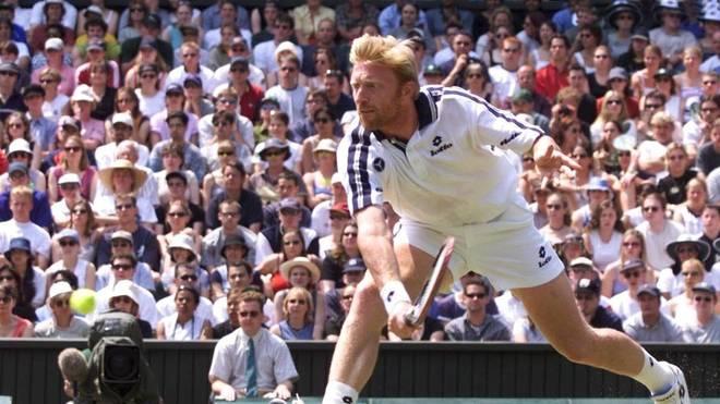 Boris Becker verlor im Wimbledon-Achtelfinale 1999 gegen Patrick Rafter