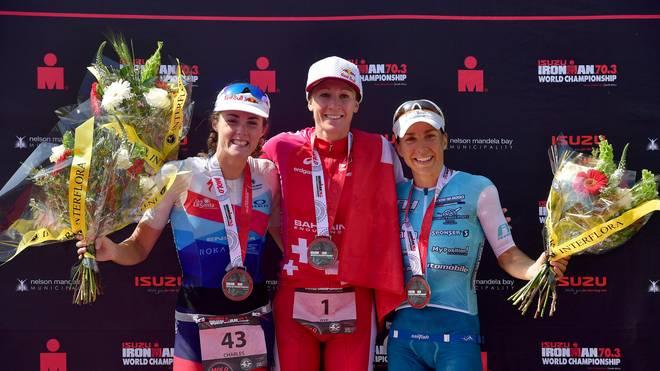 Triathlon: Anne Haug gewinnt Bronze bei Ironman-WM