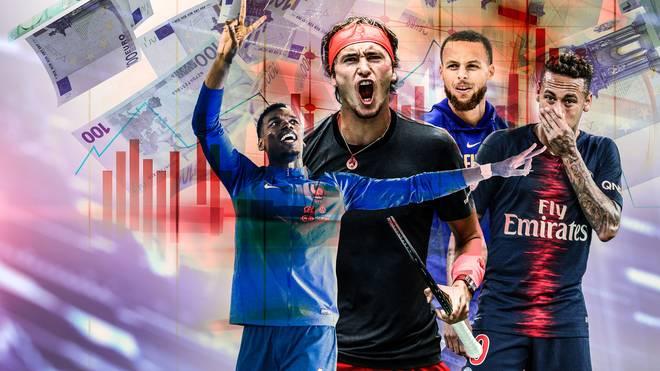 Alexander Zverev schafft es unter die Top 50 der vermarktbarsten Sportler der Welt