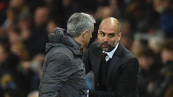 Pep Guardiola sieht seinen Trainerkollegen Jose Mourinho als Zwilling