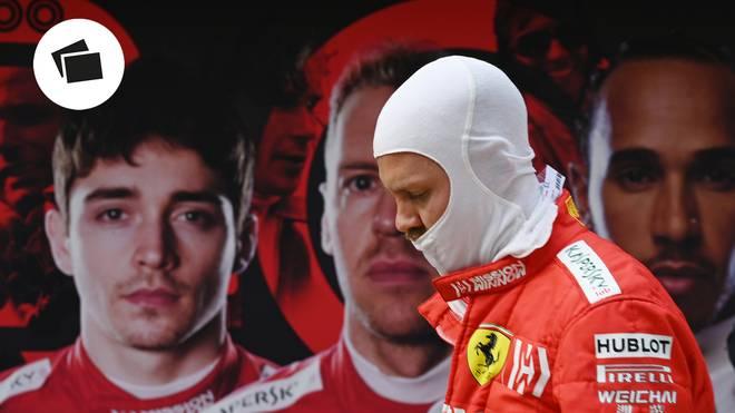 Sebastian Vettel droht mit Ferrari 2019 erneut eine Pleitensaison