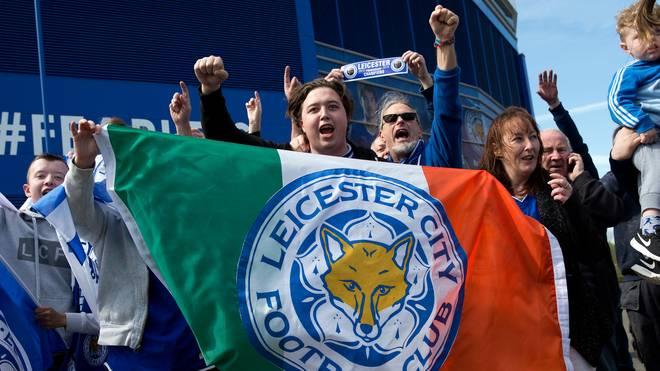 Fans von Leicester City feiern die Meisterschaft - ob einer von ihnen darauf gewettet hat?